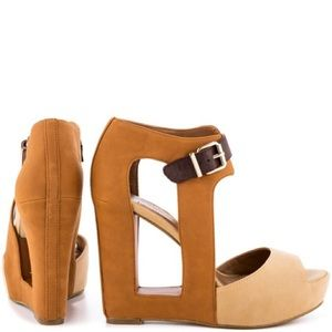 BCBGeneration Nadya Women's Natural Platform Shoes