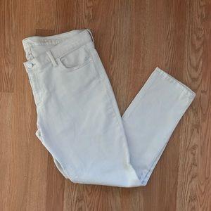 GAP 1969 Off White Girlfriend Skinny Jeans Size 30