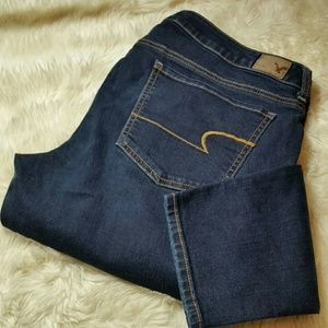 American Eagle Jegging Skinny Stretch Plus Size 16
