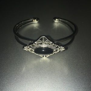 Toni Genuine 7x15mm Black Onyx Bracelet