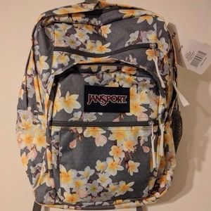 NWT Jansport Floral Print Backpack