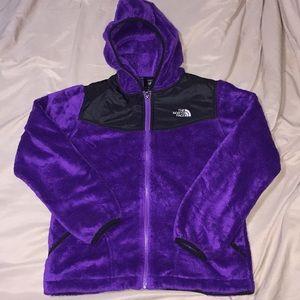 Purple The North Face Fleece Jacket 💜
