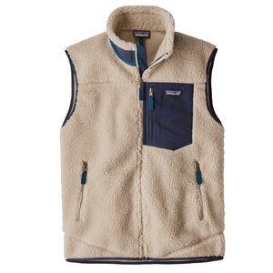 Patagonia retro x fuzzy vest
