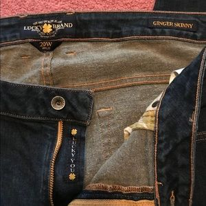 Lucky Brand Women's Jeans Size 20 , Ginger Skinny