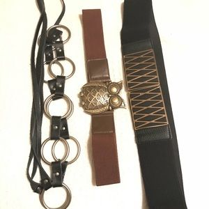 Purse and belt bundle