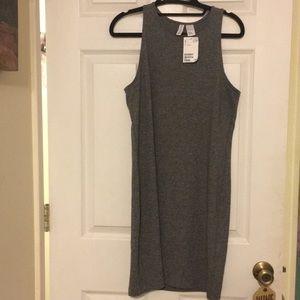 H&M Grey Tank Cotton Dress