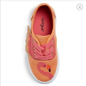 🆕LISTING- Cute Coral Flamingo Tennies