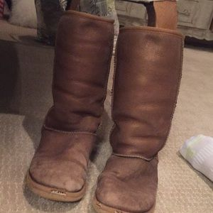 Ugg classic 2 shearling tall boot