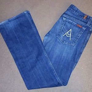 7 for all mankind size 27 'A' Pocket jeans