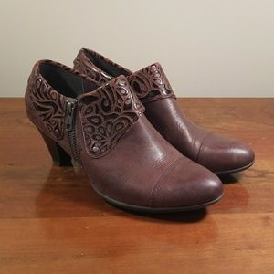 BOC Brown Ankle Booties, Size 8.5