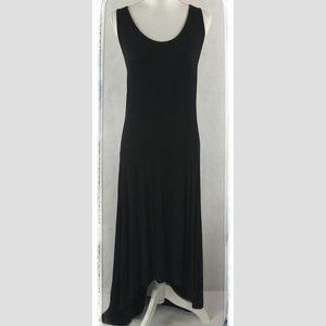 Bobeau Black Maxi-Dress