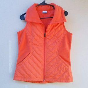 Columbia Puffer Vest in Orange S