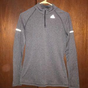 Adidas lightweight, running sweater