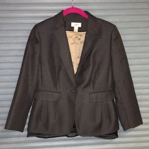 Loft blazer gathered fitted and gorgeous