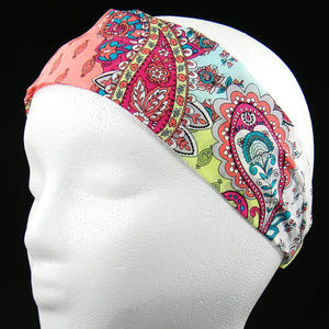 Pastel Paisley Headband