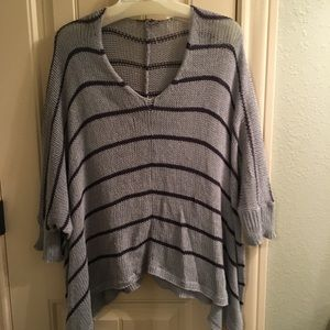 Oversized Slouchy sweater.