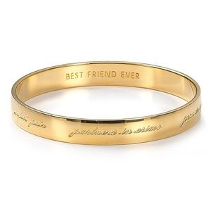 Kate Spade: Best Friendship Idiom Bracelet