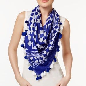NWT Kate Spade Moroccan lantern tassel scarf
