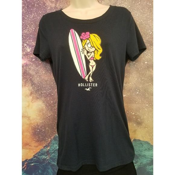917bcdb4e1 $5 Flash Sale Hollister Surfer Girl Shirt