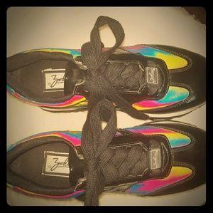 Vintage Mint condition Zodiac Rainbow sneakers