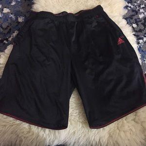 Adidas large athletic shorts