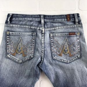 7 For All Mankind 28 x 31 A Pocket Bootcut Jeans