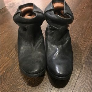Nwot Isabel Marent distressed ankle boots