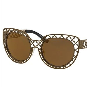 Tory Burch lattice cat eye sunglasses