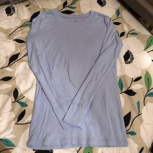 Gap periwinkle super soft long sleeve t-shirt