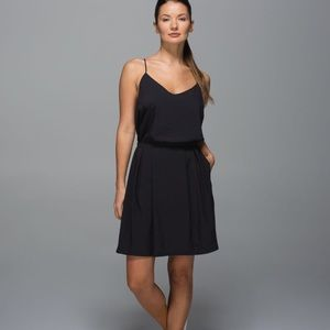 Lululemon black city summer dress