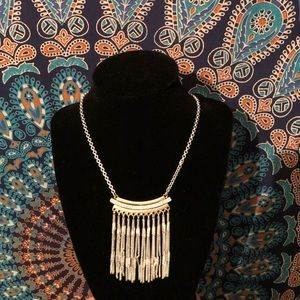 Matching earring and necklace set