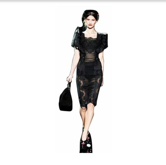 53cc6e7b54c Dolce Gabbana Black Lace Dress🖤. NWT. Dolce   Gabbana
