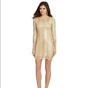 "Gianni Bini ""Gatsby"" sequin sheath dress (small)"