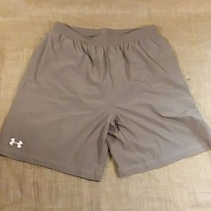 Mens Under Armour workout shorts