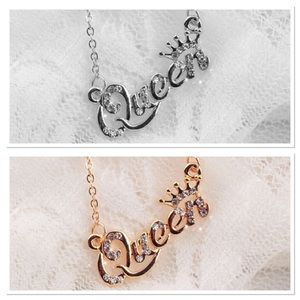 👑 New list! 👸 Dainty queen necklace!