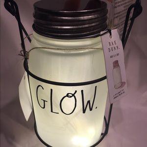 Rae Dunn Glass lantern