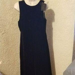 NWT Zara black crushed velour jumpsuit sz Lg