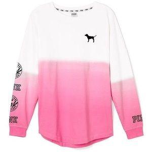 Victoria's Secret Pink tye dye long sleeve