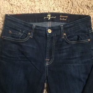 7 for all Mankind jeans. Sz 29