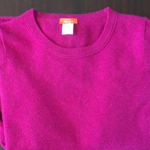 100% Cashmere J. Crew Sweater