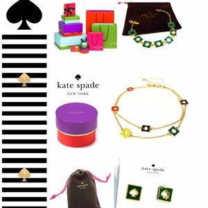 Bundle Kate Spade, Earrings Necklace Bracelet