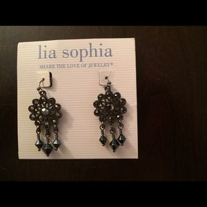 Lia Sophia earrings NWT