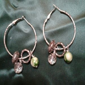 Ladies handmade earrings