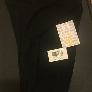 Lularoe solid black leggings