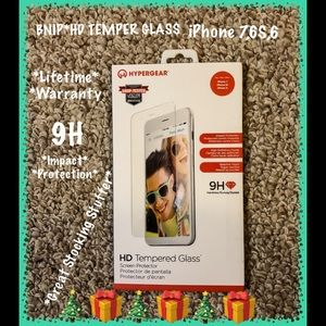 BNIP*HYPERGEAR HD TEMPERED GLASS FOR iPHONE 6,6S,7