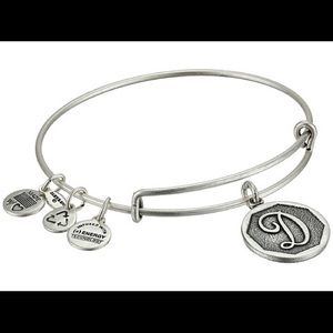 "Alex and ani ""D"" bracelet"
