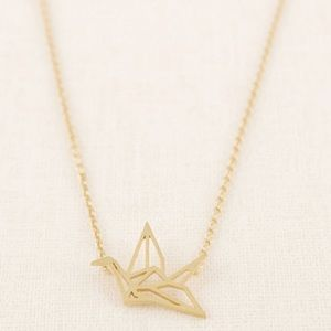 🎀New list! 🎀 Origami crane necklace
