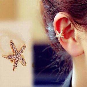 🌟 New list! 🌟 Pierce-less starfish ear cuff