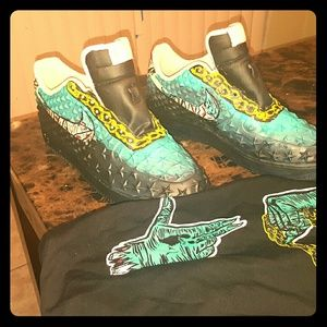 Run the jewels air forces Customized
