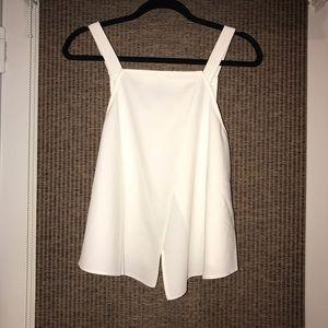 ASOS - Sleeveless white top, open back